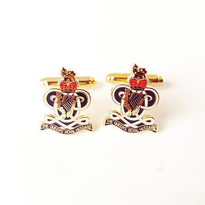 Queens Royal Hussars cufflinks