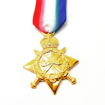 1914-1915 Star (August to November clasp inc)