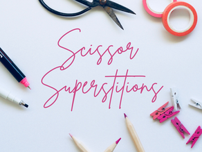 Scissor superstitions crafters should know