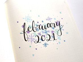 Setting Up a Bullet Journal for 2021