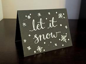 5-Minute DIY Christmas Card