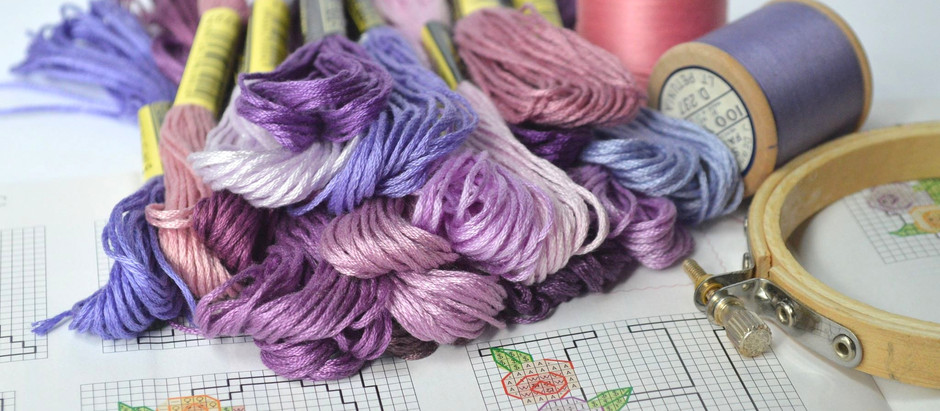 How to read a cross stitch chart