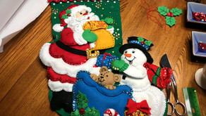 Cross Stitch & Felt Christmas Stockings to Make for the Holidays