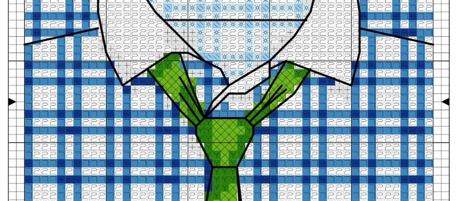Free cross stitch chart: Men's Shirts