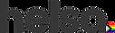 Helsa logo pride flag - black trans crop
