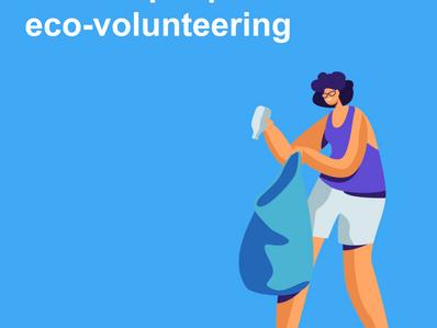 Online workshop on how to engage people in eco-volunteering