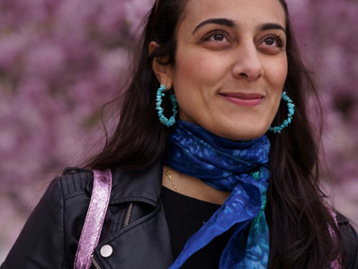 New local coordinator: Sheyda is a cultural producer from The Åland Islands