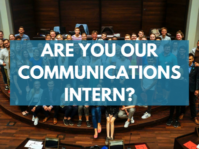 Are you our new communications intern?