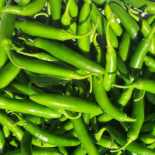 Serrano peppers, 1/4 lb