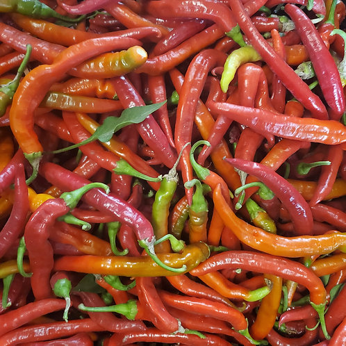 Cayenne peppers, 1/4 lb
