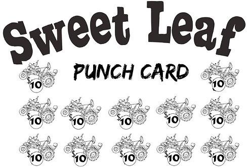 Sweet Leaf Market Punch Card