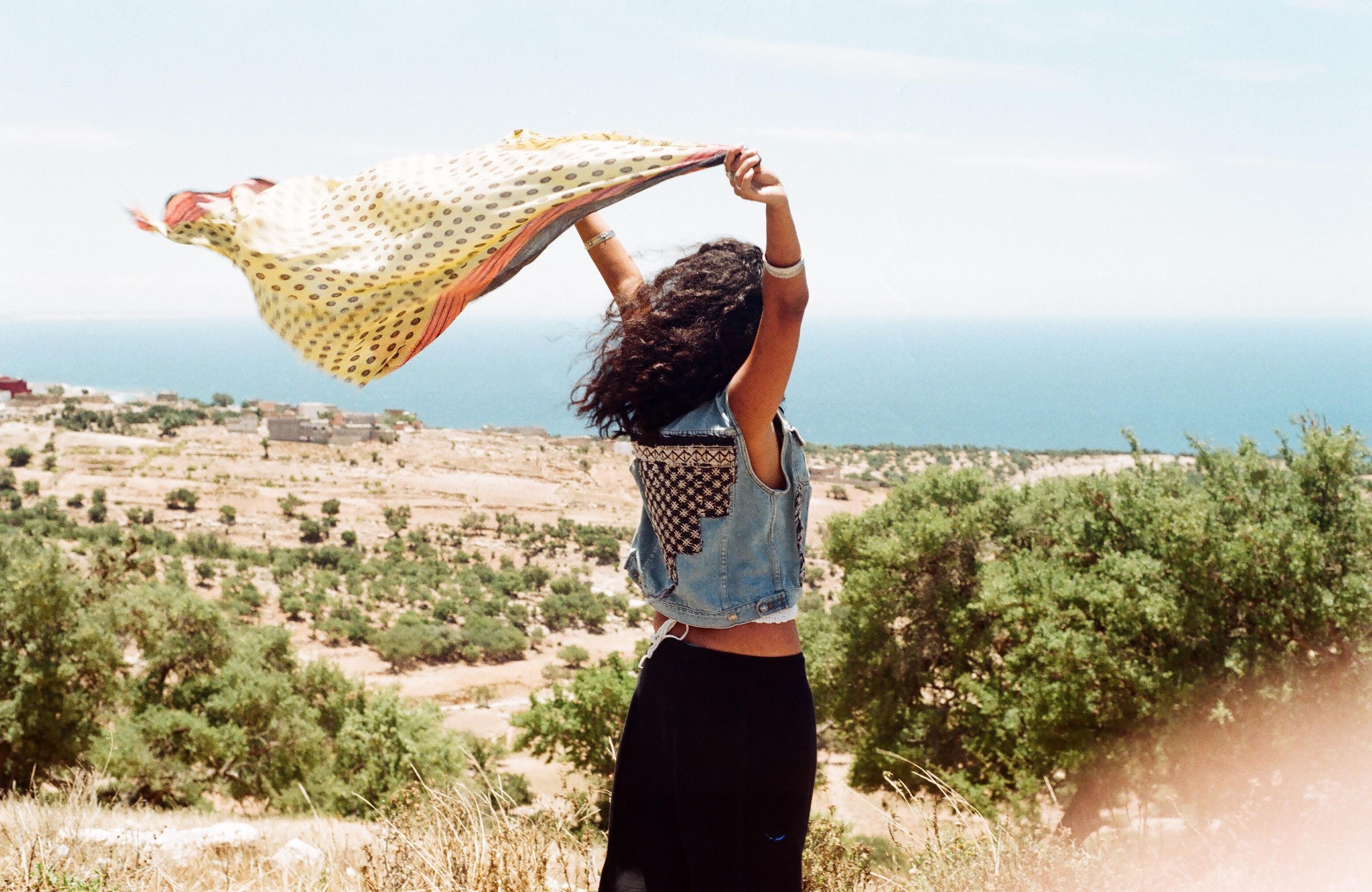 Berber Blue Morocco