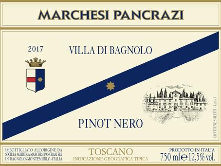 Degustazione Marchesi Pancrazi Pinot Nero