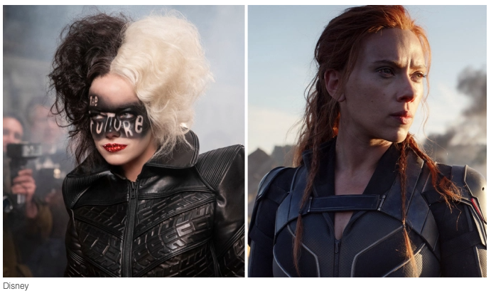 """BLACK WIDOW"" AND ""CRUELLA"" TO DEBUT SIMULTANEOUSLY IN CINEMAS AND ON DISNEY+ PREMIER ACCESS"