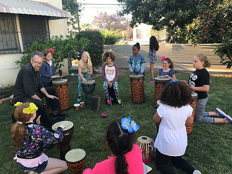 Hollywood Drum Circle