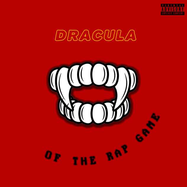Dracula of the Rap Game (Cover & Logo)