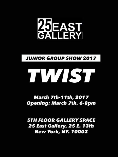 BFA Junior Group Show 'Twist' 2017