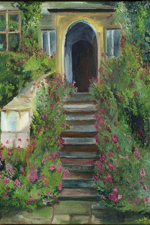Nature Painting - Entrance