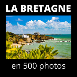 """Livre """"La Bretagne en 500 photos"""""""