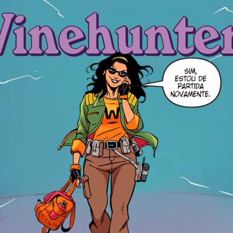 Wine lança quadrinhos com história de curadoria de vinhos