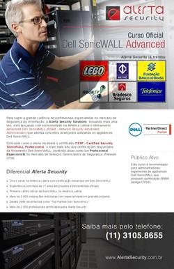 Email Certificação SoniWall NSAA