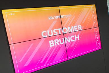 Customer Brunch - RD Summit 2019