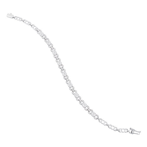 18KWhite Gold Diamond Bracelet DB01594