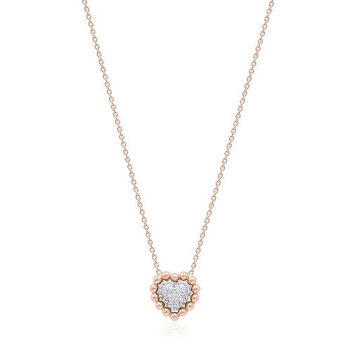 18K Rose Gold Diamond Necklace DN01172