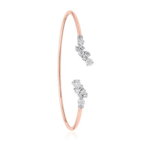 18K Rose Gold Diamond Bracelet DB01675