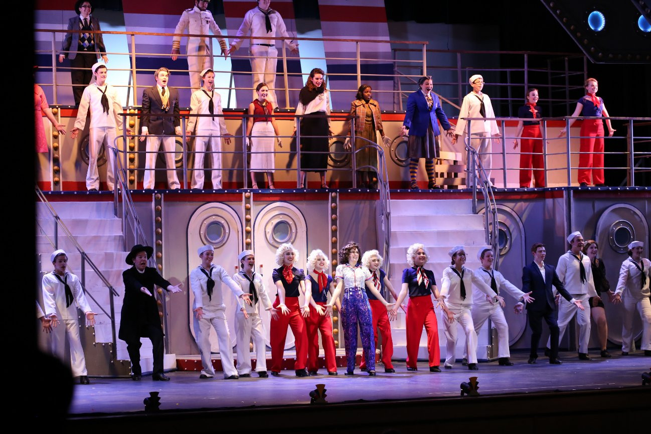 Cast of Anything Goes