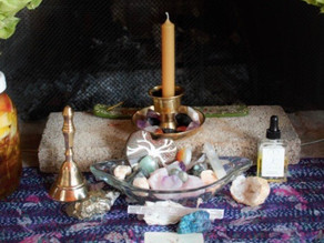 Self-Care Advent, Day 12 : : Altar Offerings
