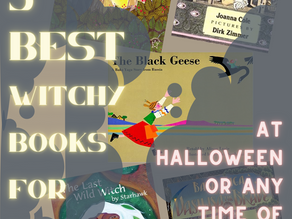 My Favorite Real-Deal Witch Books for Kids