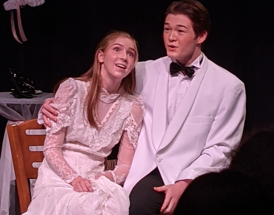 Kate Hudson and Logan Dunn in a scene from The Marriage of Bette and Boo.