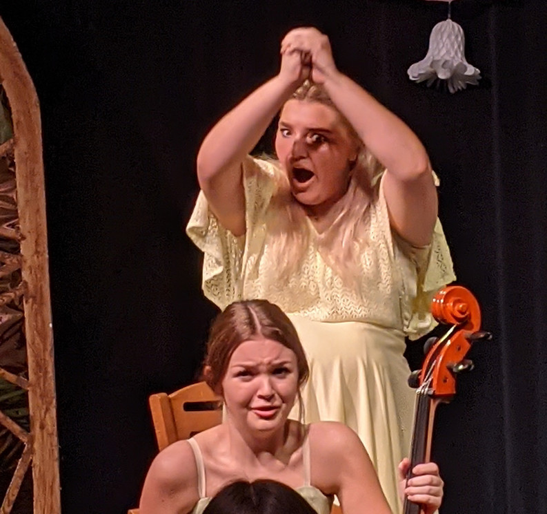 Taylor Barnett and Arwen Kubicek in a scene from The Marriage of Bette and Boo.
