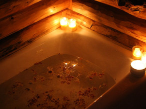 Self-Care Advent, Day 19 : : Sacred Plant Bath