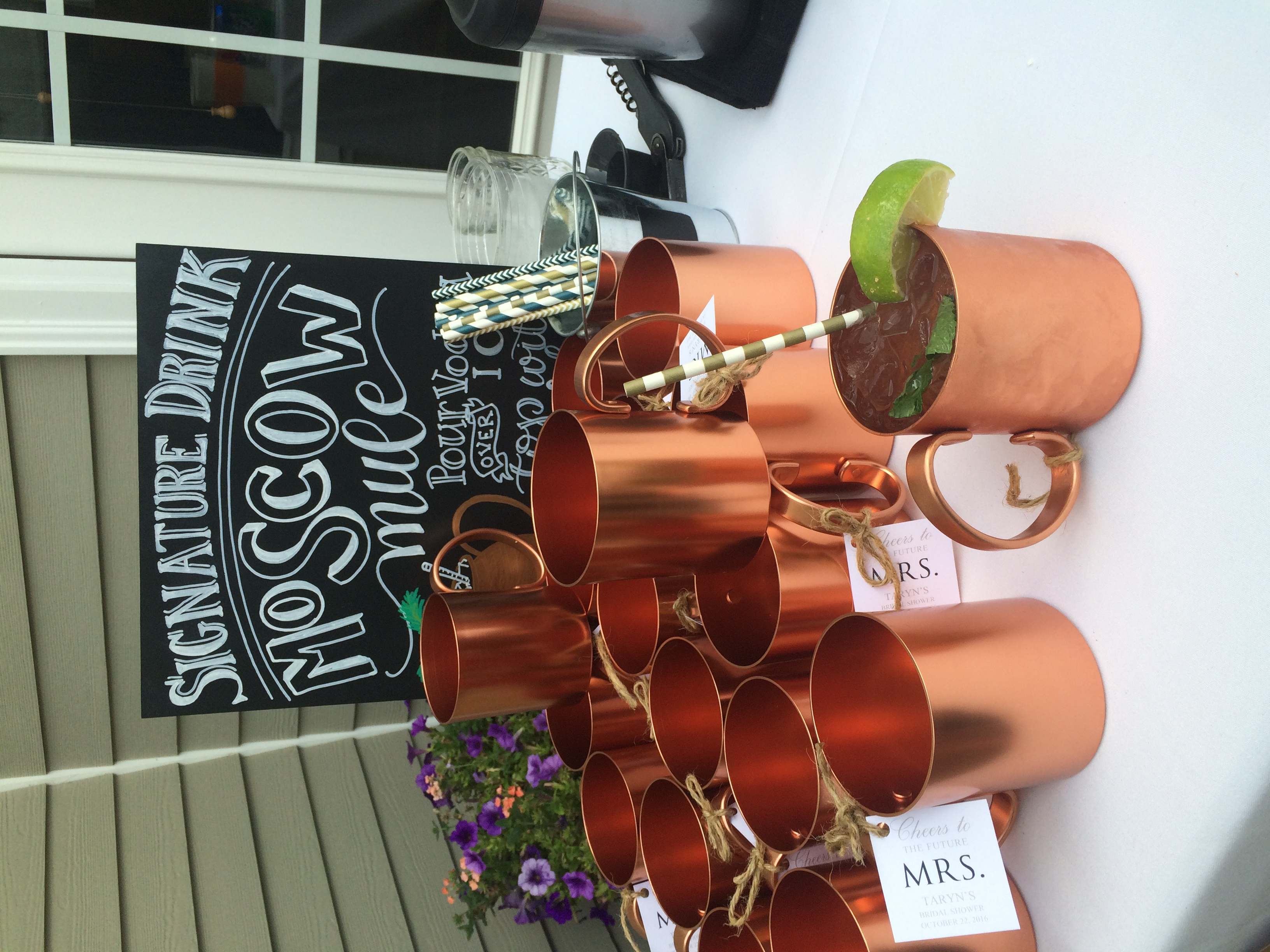 Moscow Mule Display!