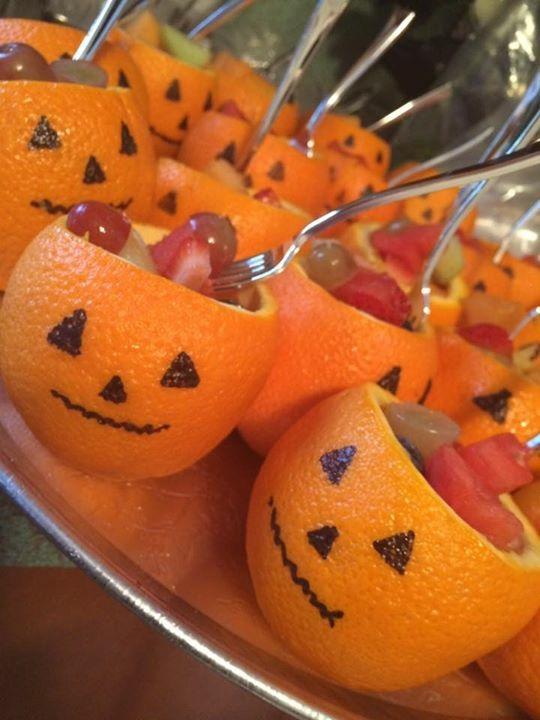 Halloween Fruit Cups !