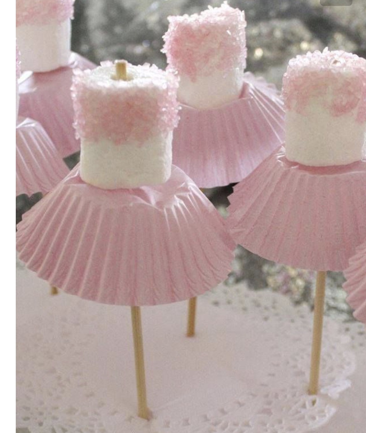 Tutu Marshmallows !