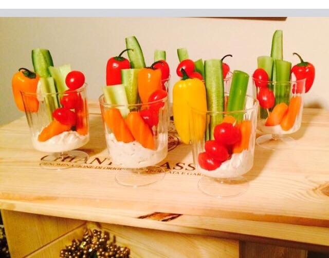 Veggie Cups !