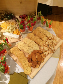 Cracker & Cheese Display !