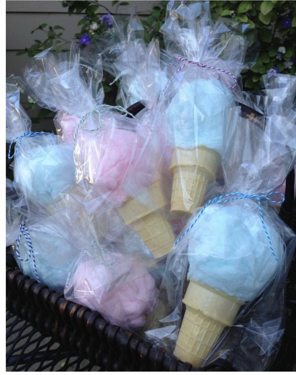 Ice Cream Cotton Candy !