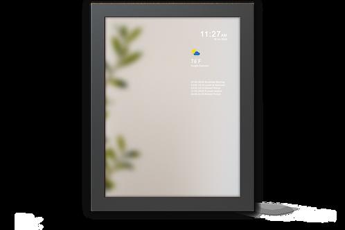 Smart Mirror - Medium Size - Black Frame