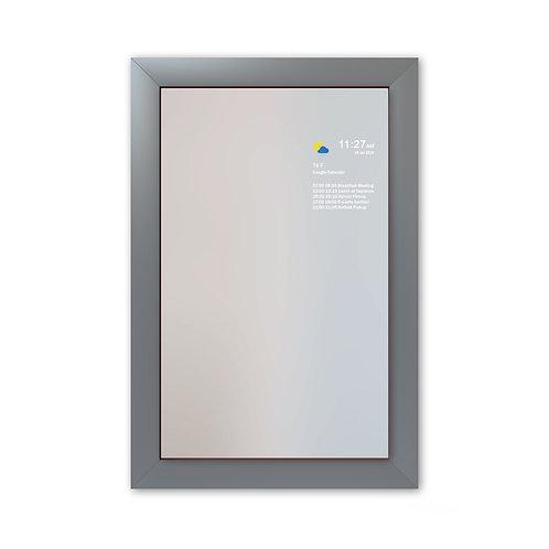Smart Mirror - Large Frame - Grey