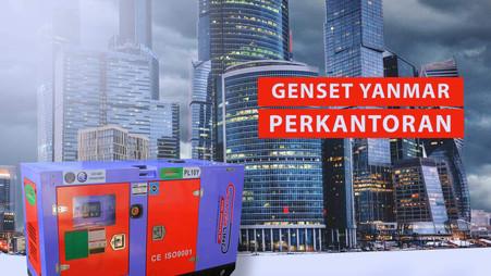 Genset Yanmar Perkantoran