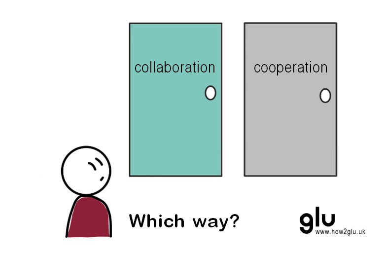 collaboration or cooperation - which way?