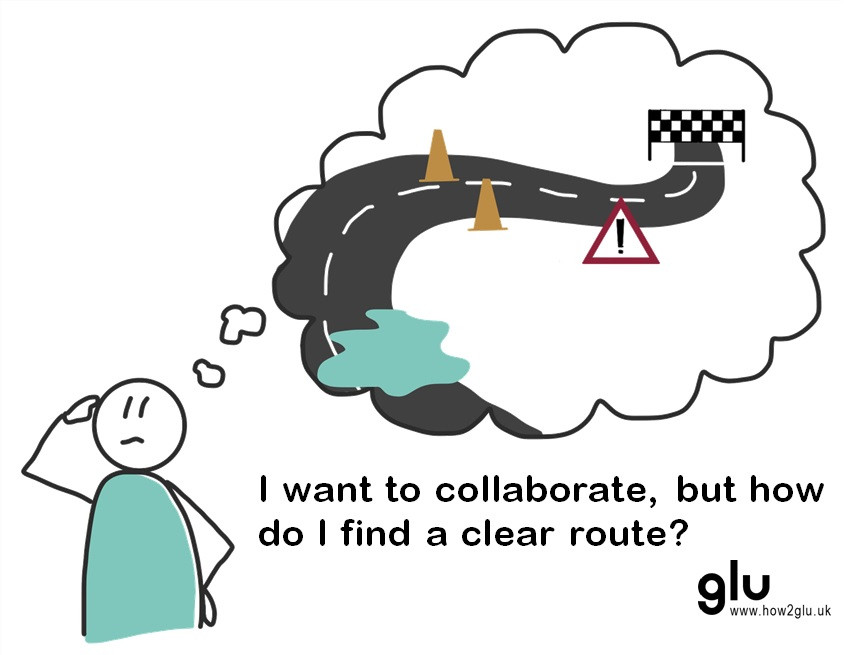 How do I find a clear route to collaborate?