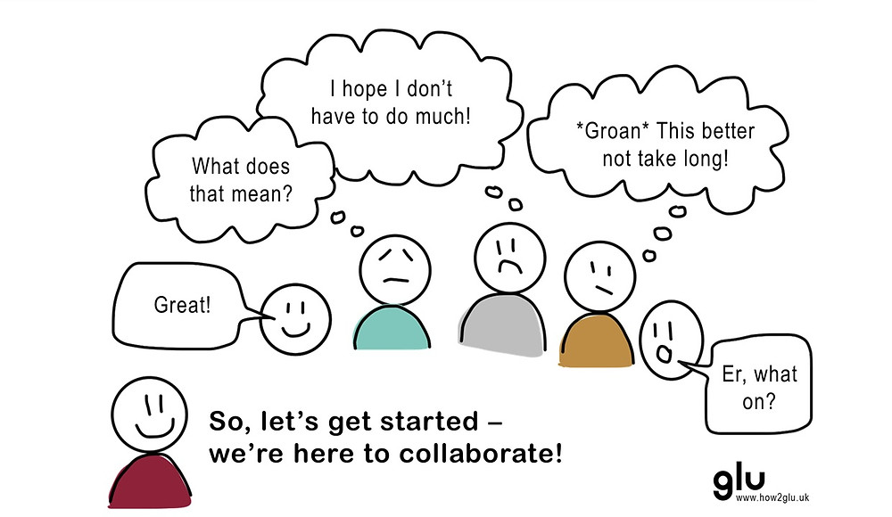So, let's get started - we're here to collaborate!
