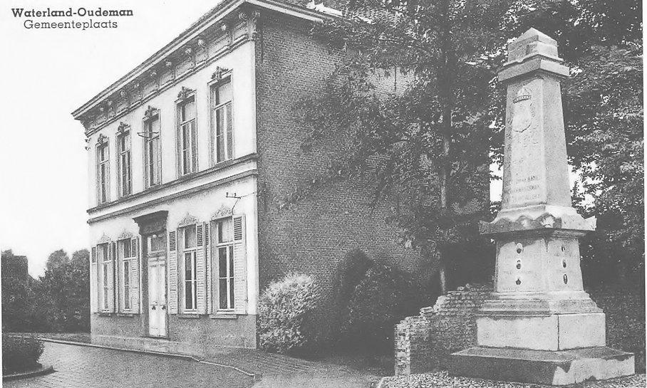 Waterland - gemeentehuis 1955 (eerste bo