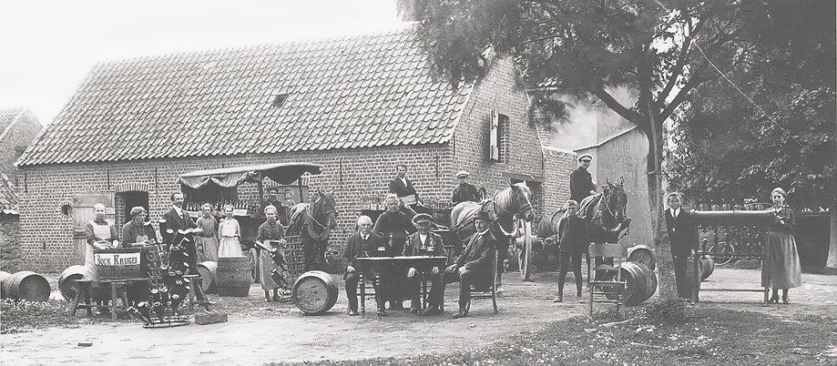 Waterland - bieraftrekkerij Aernout 1920