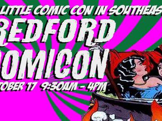 REDFORD COMIC CON... HERE WE COME!